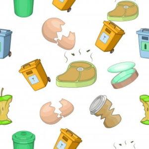 poubelle schema dessin