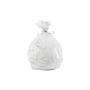 sac poubelle coulissante blanc